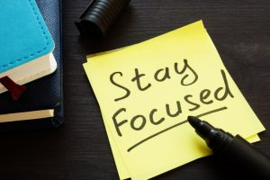 Staying Focused for Success in Business